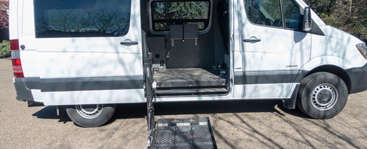 2014 Mercedes-Benz Sprinter 2500 Handicap Accessible Van